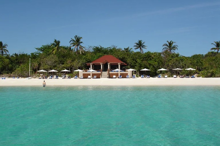 Enjoy the fourth night free at properties like the Amanpulo in Palawan, the Philippines.