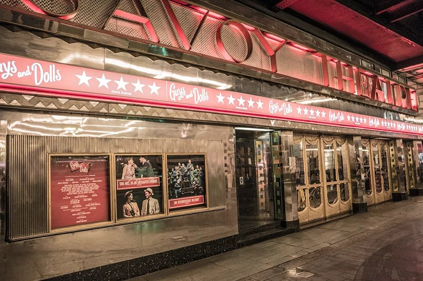 The Savoy Theatre, built eight years before the hotel.
