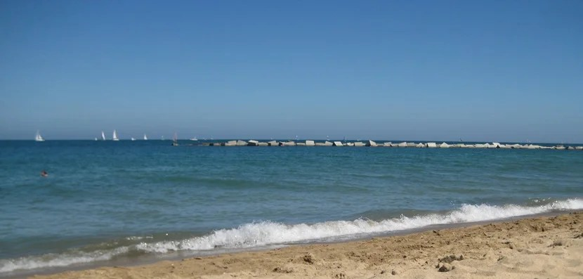 Beautiful Barceloneta Beach.
