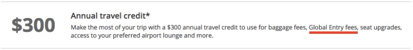 Ritz travel credit