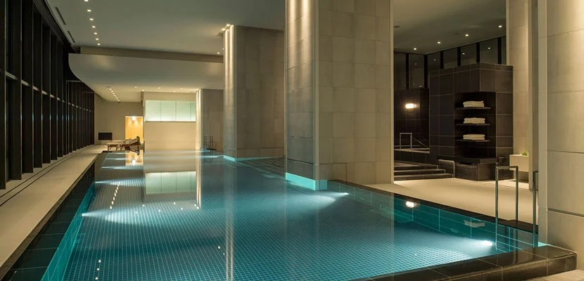 The Andaz's spa.