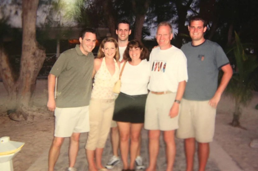 Each trip to Cayman became a great family bonding experience.