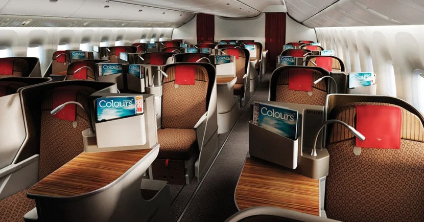 garuda business class featured