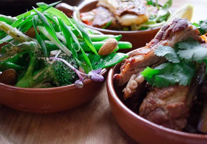 Local, local, local cuisine. Image courtesy of Kirra Pendergast.