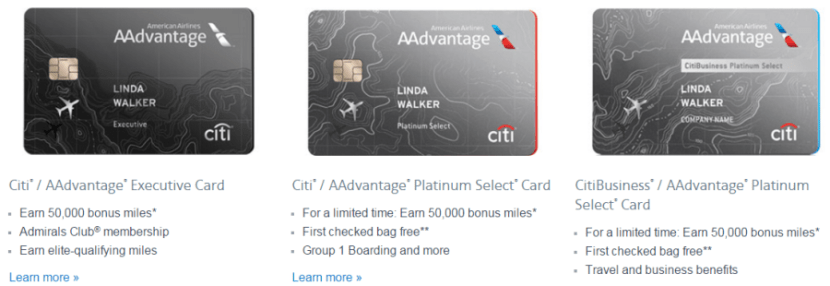 Many Citi cards are eligible for a mileage discount.