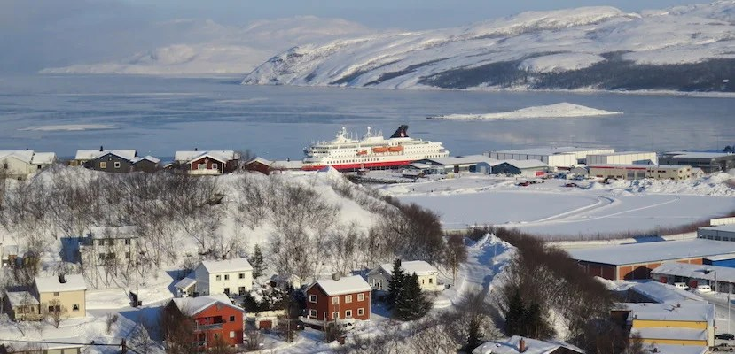 The Hurtigruten cruise ships are a smooth way to take in the majestic Norwegian coast.