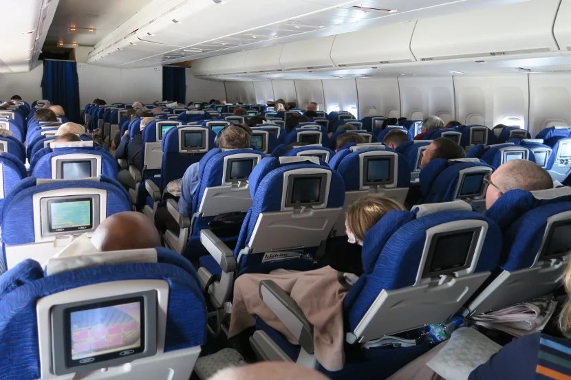 Would I fly in this cabin on this route again?