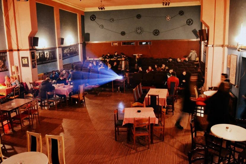 The movie theatre-meets-dance hall Kino Bosna is the place to go for beer and live music.