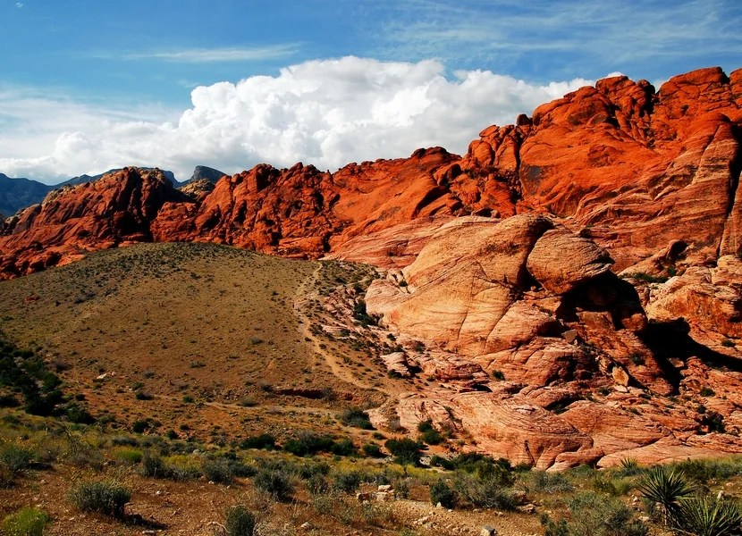 Exploring Red Rock Canyon National Conservation Area was both a fun and humbling experience. Image courtesy of Shutterstock.