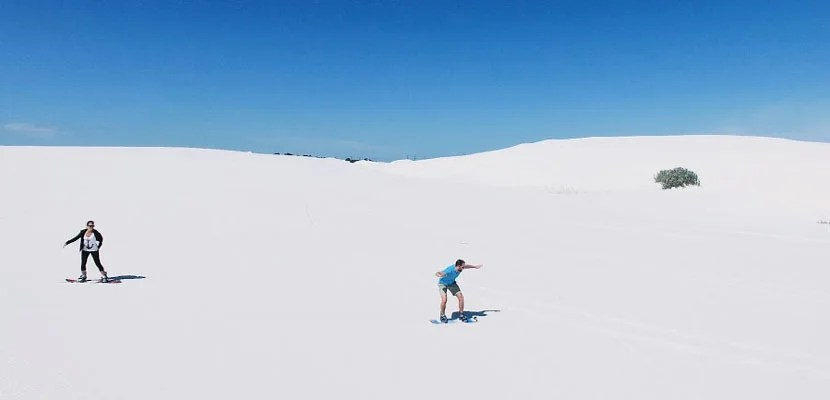 Brian Sandboarding in South Africa