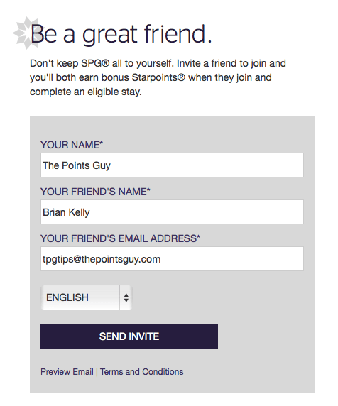 Share this referral with a friend via email.