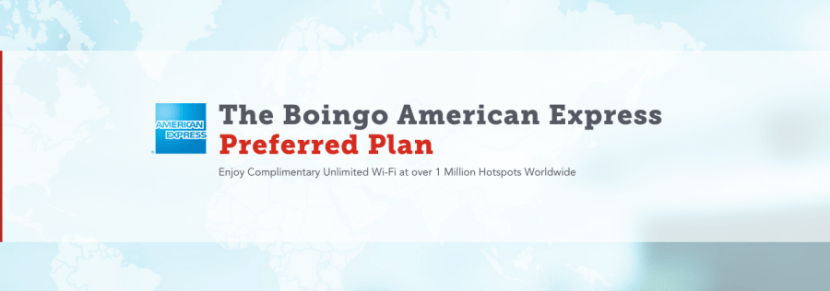 Both cards now include access to the Boingo American Express Preferred Plan.