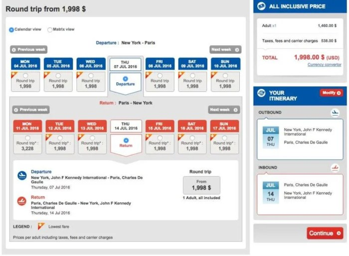 New York (JFK) to Paris (CDG) for $1,998 in Turkish business class.