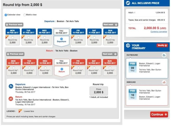Boston (BOS) to Tel Aviv (TLV) for $2,000 in Turkish business class.