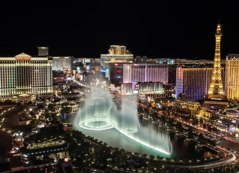 The Strip hotels have much more to offer than just casinos. Image courtesy of Shutterstock.