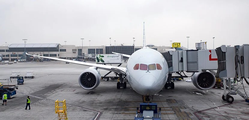 AA Dreamliner 787 review - LAX-PVG