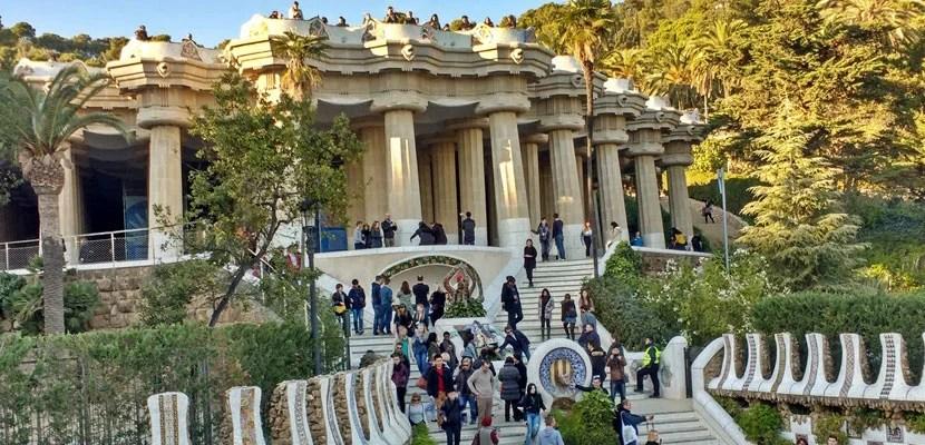 Park Güell in Barcelona.
