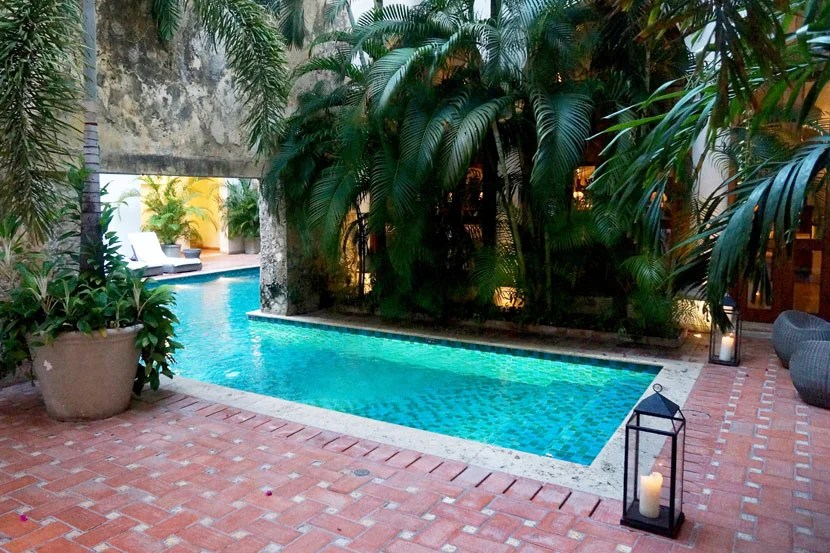 The pool at Hotel Casa San Agustin, a Visa Signature property in Old Town.
