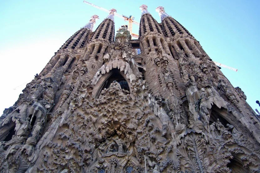 The Sagrada FamiLa Sagrada Família is expected to finally be completed in 2026.lia is expected to be completed in 2026.
