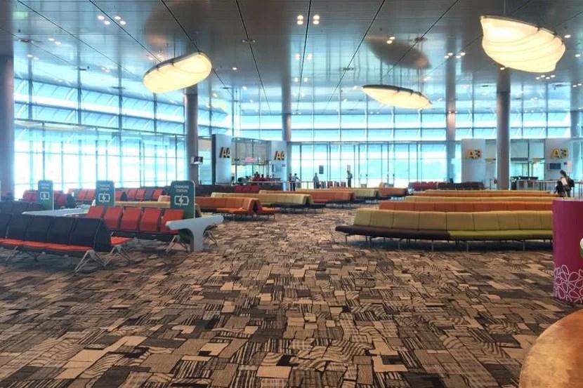 Boarding Singapore Suites