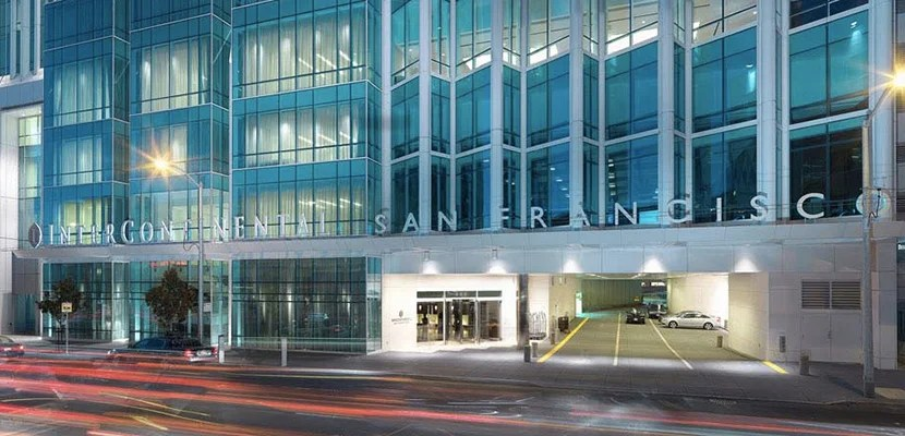 70,000 points will get you a one-night stay at properties like the InterContinental San Francisco.
