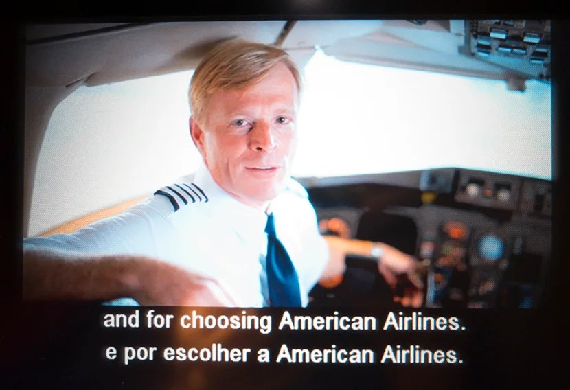 American Airlines employees are featured in the airline's safety video.