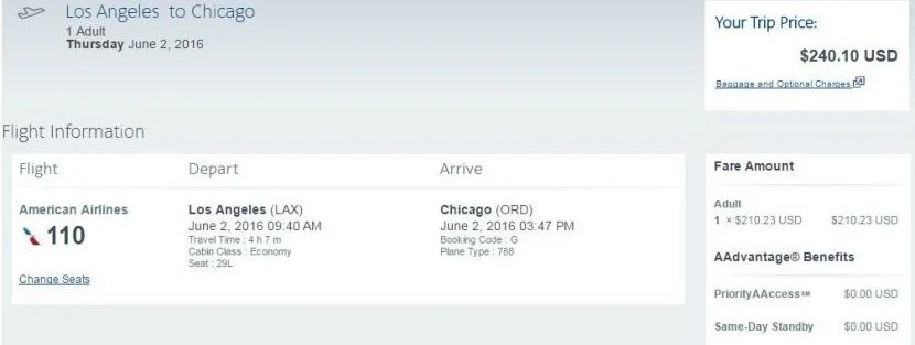 """A one-way economy seat on the """"inaugural flight"""" is currently running $240."""