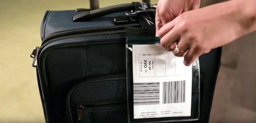 self tag bag checked luggage featured