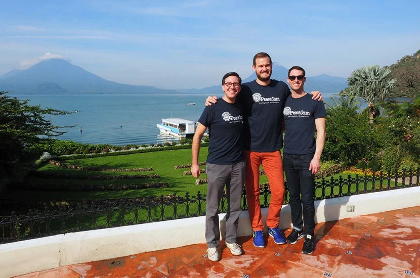 TPG reader Alexander L. (left) won a trip to Guatemala