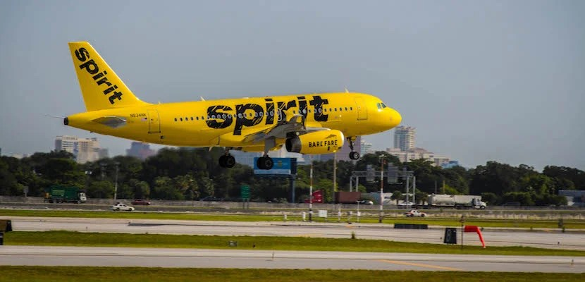 Image courtesy of Spirit Airlines.