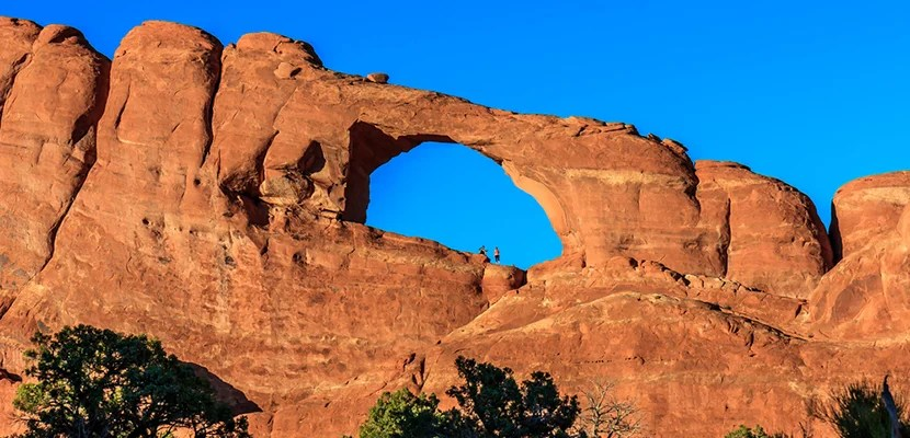 Arches National Park in Utah. Image courtesy of Shutterstock.