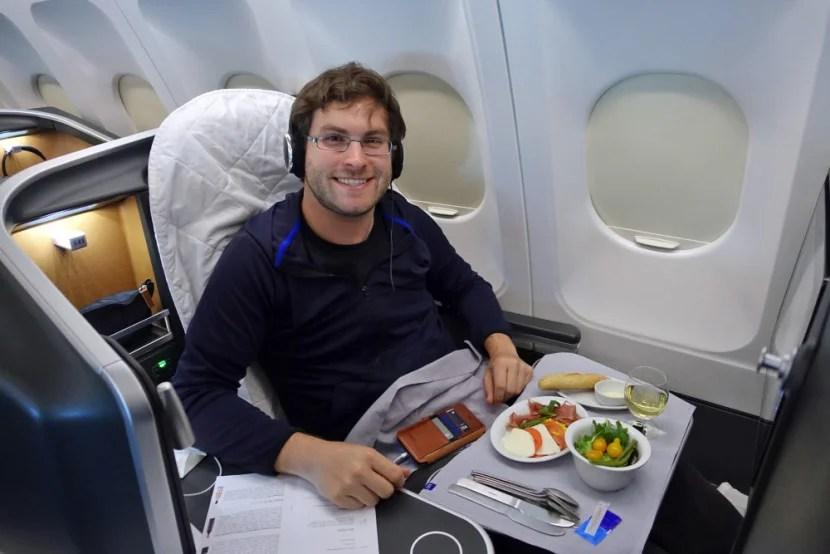 SAS A330 Business Class Review