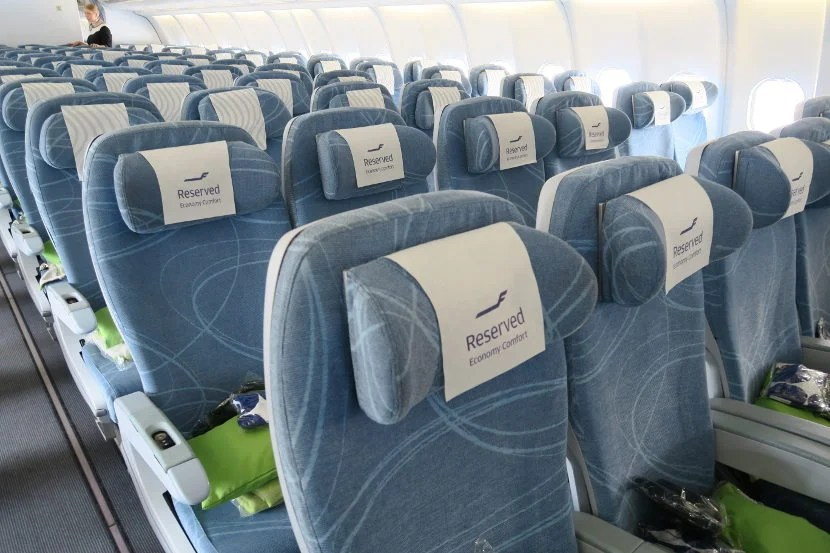 Flying Finnair's Economy Comfort was comparable to flying in American Airline's Main Cabin Extra.
