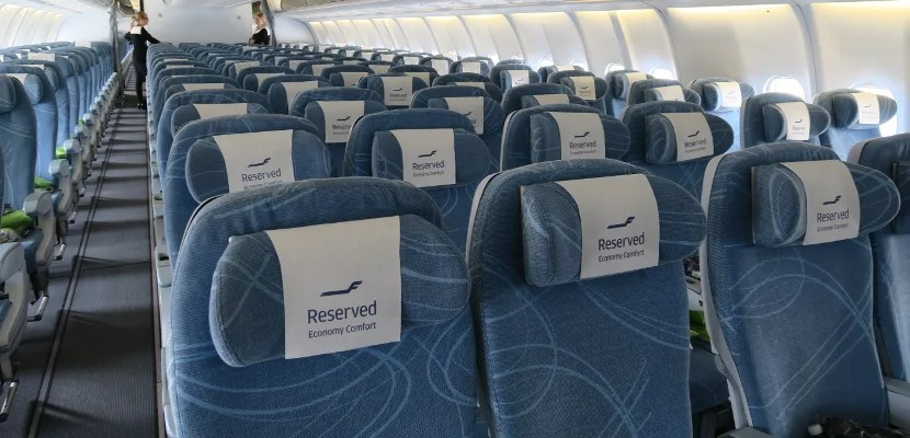 Finnair A330-300 economy comfort cover