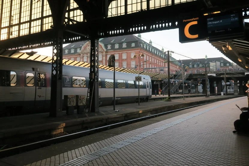 Trains run frequently between Copenhagen Main Station and CPH airport.