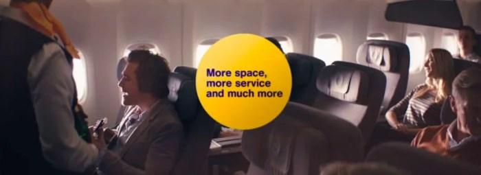 Premium economy on Lufthansa's A380.