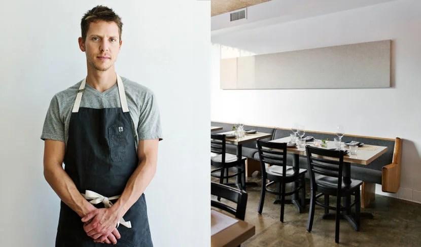 Zach Pollack at his restaurant Alimento. Image courtesy Alimento