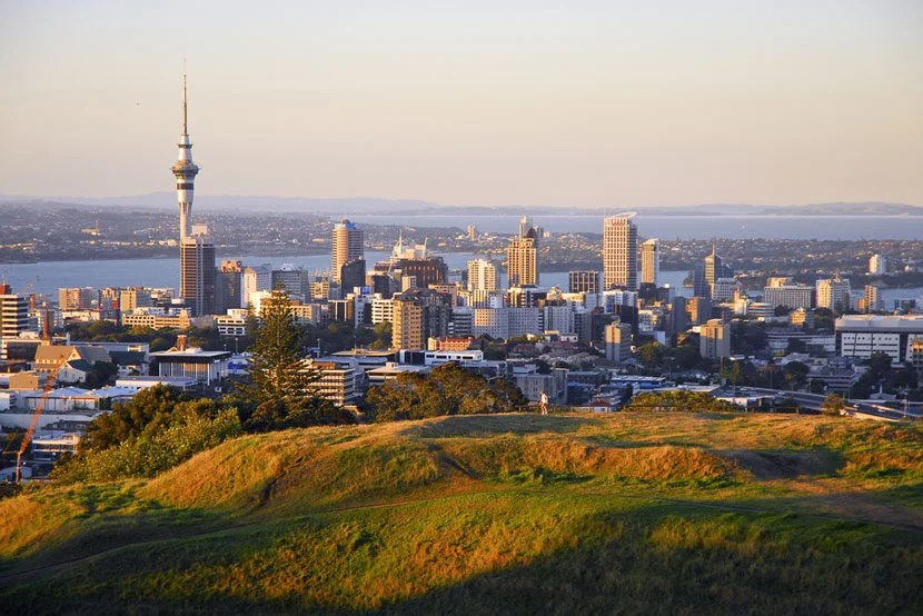 """Start planning your trip to Auckland, New Zealand — award availability seems good this fall. Image courtesy of <a href=""""http://www.shutterstock.com/pic-90525265/stock-photo-auckland-new-zealand-feb-20-panoramic-view-of-auckland-city-viewed-from-mt-eden-volcano-in-auckland-on-february-20-2007-auckland-pop-14m-is-n-zealands-most-popular-visitor-d.html?src=9BBdE9W5PU3xE_5sk9DLNQ-1-24"""" target=""""_blank"""">Shutterstock</a>."""