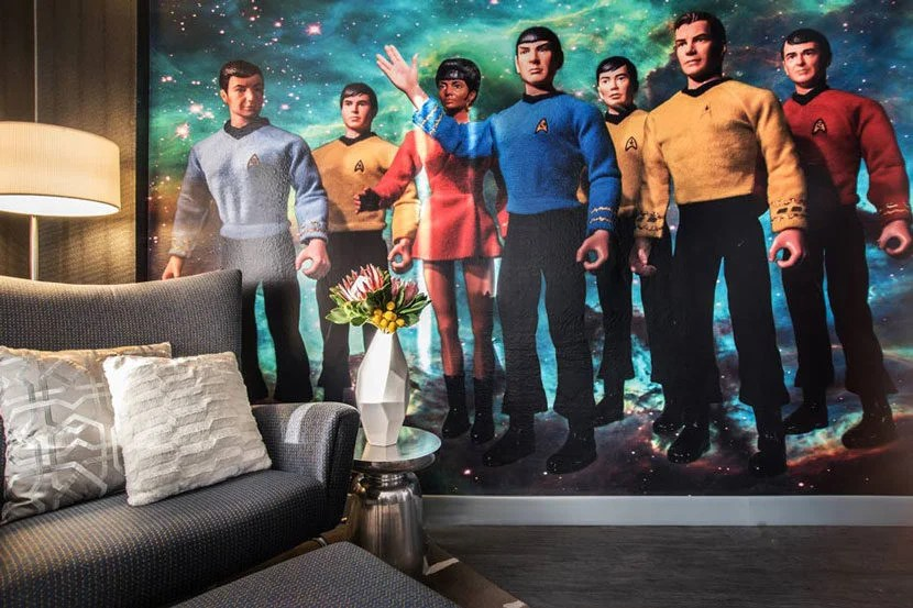 The Star Trek Suite at The Curtis.