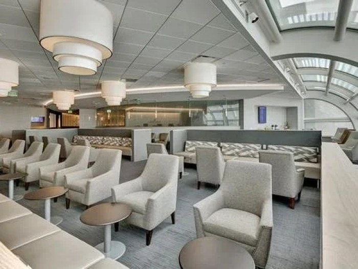 This Orlando Airport lounge was recently renovated. Image courtesy of Priority Pass.