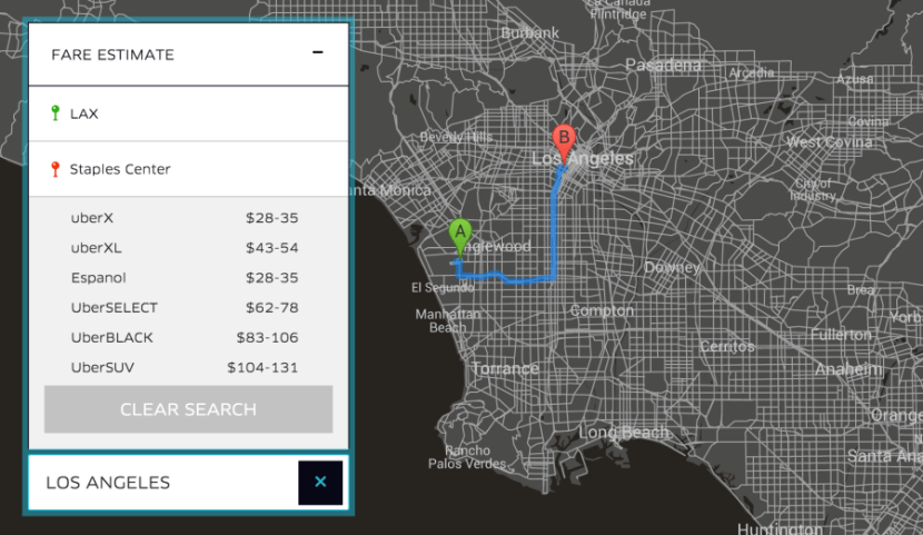 Save with UberX from LAX on your next trip.