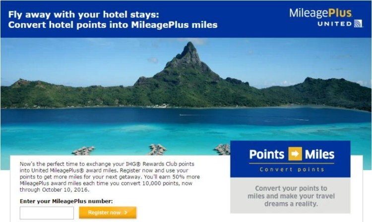 Rather than paying full price for United miles. you can combine these two promotions to get United miles for under 2 cents each.