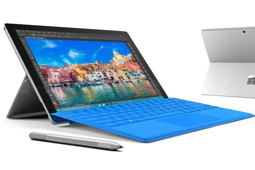 Microsoft's Surface Pro 4 offers a detachable keyboard and runs full Windows 10. Image courtesy of Microsoft.