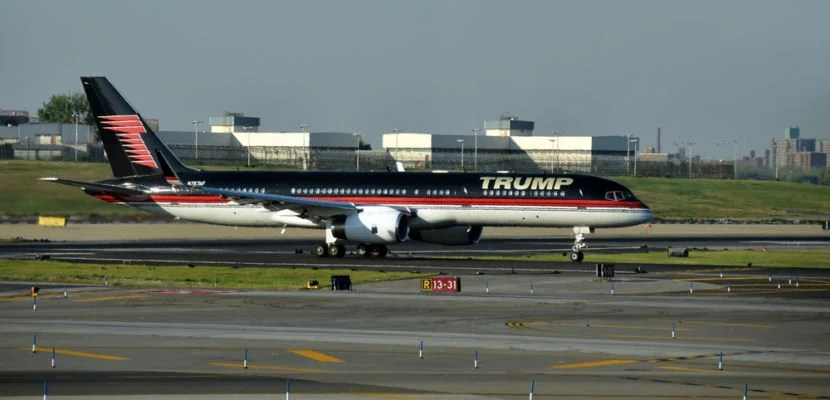 Trump Plane Featured