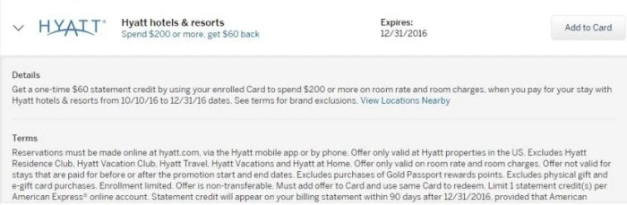 Log in to your Amex account to see if you're targeted for this offer and to register.