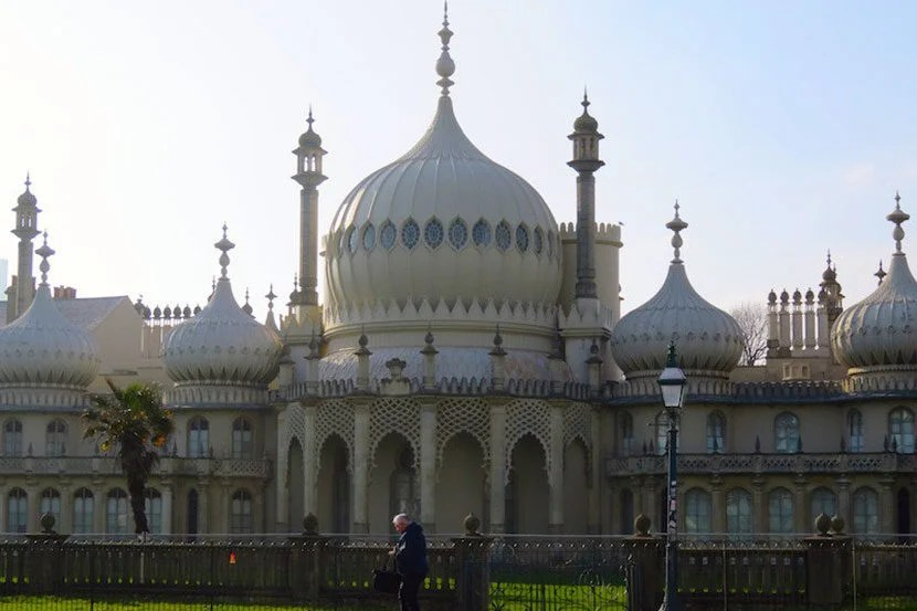 The Royal Pavilion is the epicenter of quirky Brighton. Image by the author.