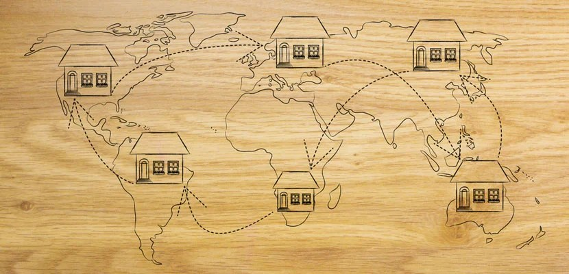 Moving abroad. Image courtesy of Shutterstock.