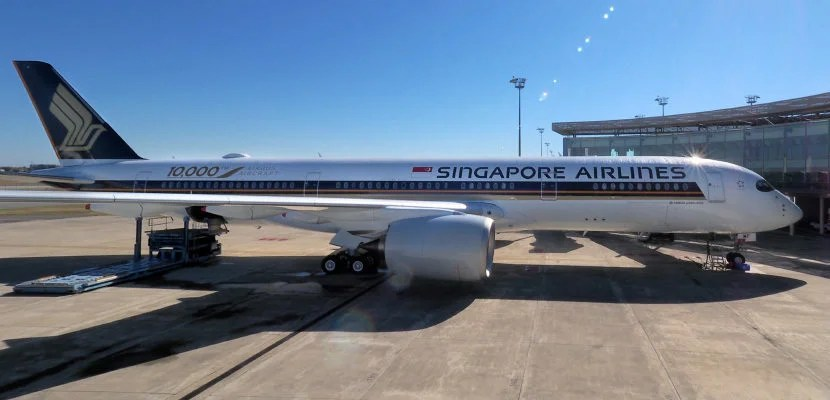 Singapore Airlines now offers non-stop service from San Francisco to Singapore. Image byZach Honig.