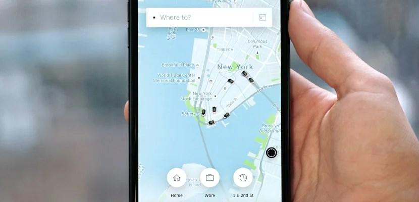 new uber app featured