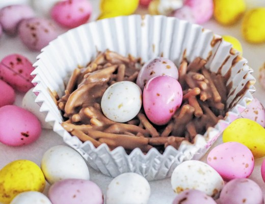 Chocolate Easter Nest